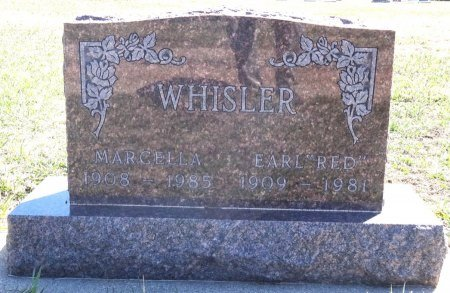 WHISLER, MARCELLA - Jones County, South Dakota | MARCELLA WHISLER - South Dakota Gravestone Photos