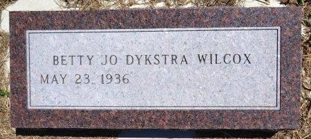 WILCOX, BETTY JO - Jones County, South Dakota   BETTY JO WILCOX - South Dakota Gravestone Photos