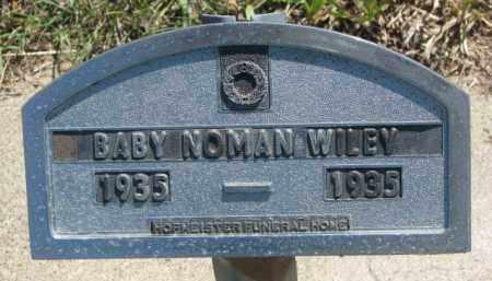 WILEY, NOMAN - Jones County, South Dakota | NOMAN WILEY - South Dakota Gravestone Photos