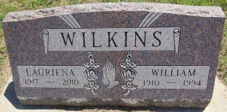 WILKINS, LAURIENA - Jones County, South Dakota   LAURIENA WILKINS - South Dakota Gravestone Photos