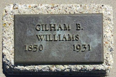 WILLIAMS, GILHAM - Jones County, South Dakota | GILHAM WILLIAMS - South Dakota Gravestone Photos