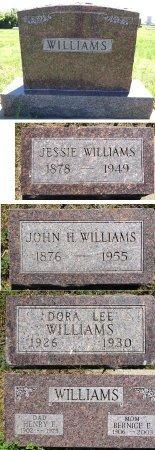 WILLIAMS, JESSIE - Jones County, South Dakota   JESSIE WILLIAMS - South Dakota Gravestone Photos