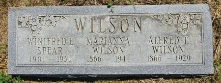 WILSON, WINIFRED - Jones County, South Dakota | WINIFRED WILSON - South Dakota Gravestone Photos