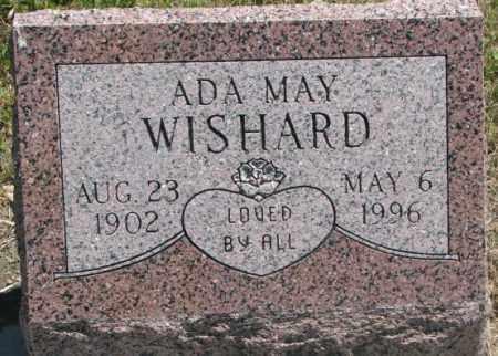 WISHARD, ADA MAY - Jones County, South Dakota | ADA MAY WISHARD - South Dakota Gravestone Photos