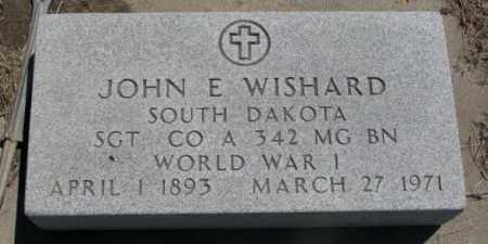 WISHARD, JOHN E. - Jones County, South Dakota | JOHN E. WISHARD - South Dakota Gravestone Photos