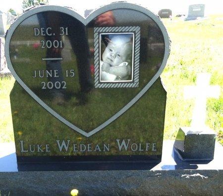 WOLFE, LUKE - Jones County, South Dakota | LUKE WOLFE - South Dakota Gravestone Photos
