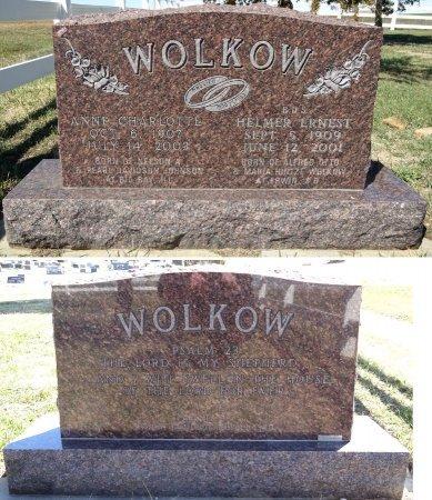 WOLKOW, HELMER - Jones County, South Dakota | HELMER WOLKOW - South Dakota Gravestone Photos