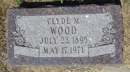 WOOD, CLYDE - Jones County, South Dakota | CLYDE WOOD - South Dakota Gravestone Photos