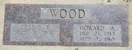 WOOD, HOWARD - Jones County, South Dakota | HOWARD WOOD - South Dakota Gravestone Photos