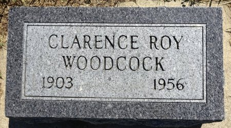 WOODCOCK, CLARENCE ROY - Jones County, South Dakota | CLARENCE ROY WOODCOCK - South Dakota Gravestone Photos