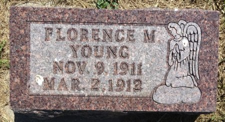 YOUNG, FLORENCE - Jones County, South Dakota | FLORENCE YOUNG - South Dakota Gravestone Photos