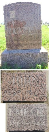 ZICKRICK, JOHN - Jones County, South Dakota | JOHN ZICKRICK - South Dakota Gravestone Photos