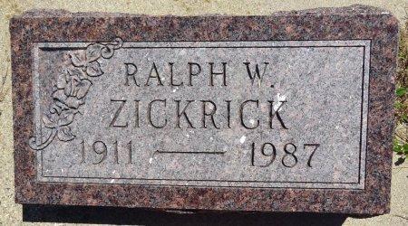 ZICKRICK, RALPH - Jones County, South Dakota | RALPH ZICKRICK - South Dakota Gravestone Photos