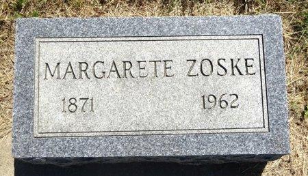 ZOSKE, MARGARETE - Jones County, South Dakota   MARGARETE ZOSKE - South Dakota Gravestone Photos