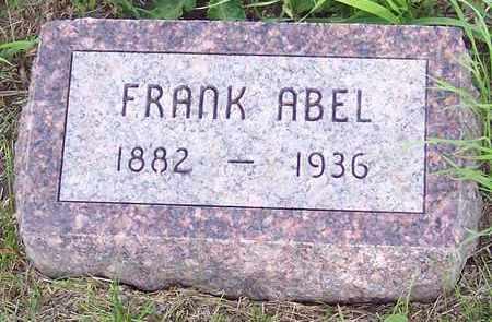ABEL, FRANK - Kingsbury County, South Dakota   FRANK ABEL - South Dakota Gravestone Photos