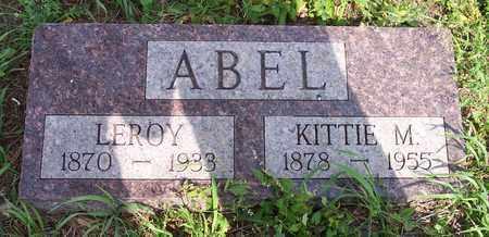 ABEL, LEROY J - Kingsbury County, South Dakota   LEROY J ABEL - South Dakota Gravestone Photos