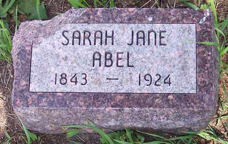 COBLE ABEL, SARAH JANE - Kingsbury County, South Dakota | SARAH JANE COBLE ABEL - South Dakota Gravestone Photos
