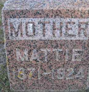ANDERSEN, MATTIE - Kingsbury County, South Dakota | MATTIE ANDERSEN - South Dakota Gravestone Photos