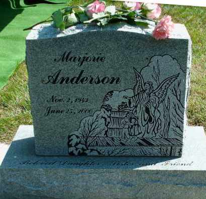 ANDERSON, MARJORIE ANN - Kingsbury County, South Dakota | MARJORIE ANN ANDERSON - South Dakota Gravestone Photos
