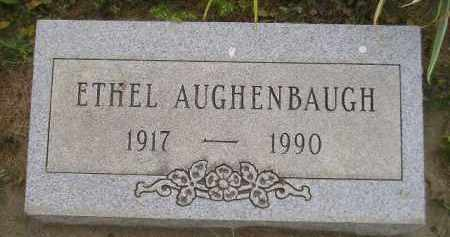 AUGHENBAUGH, ETHEL - Kingsbury County, South Dakota | ETHEL AUGHENBAUGH - South Dakota Gravestone Photos
