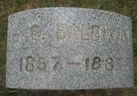 BALDWIN, E.C. - Kingsbury County, South Dakota | E.C. BALDWIN - South Dakota Gravestone Photos