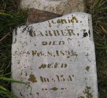 BARBER, CLYDE M. - Kingsbury County, South Dakota | CLYDE M. BARBER - South Dakota Gravestone Photos