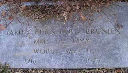BRUNICK, JAMES BERNHARD - Kingsbury County, South Dakota | JAMES BERNHARD BRUNICK - South Dakota Gravestone Photos