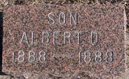 CHRISTENSEN, ALBERT D. - Kingsbury County, South Dakota   ALBERT D. CHRISTENSEN - South Dakota Gravestone Photos