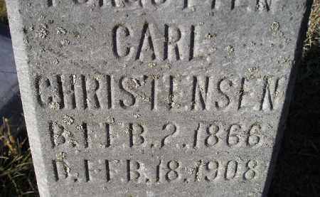 CHRISTENSEN, CARL - Kingsbury County, South Dakota   CARL CHRISTENSEN - South Dakota Gravestone Photos