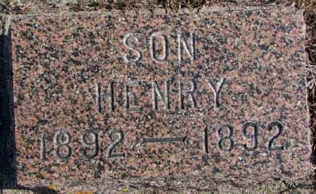 CHRISTENSEN, HENRY - Kingsbury County, South Dakota | HENRY CHRISTENSEN - South Dakota Gravestone Photos