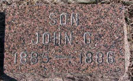 CHRISTENSEN, JOHN G. - Kingsbury County, South Dakota | JOHN G. CHRISTENSEN - South Dakota Gravestone Photos