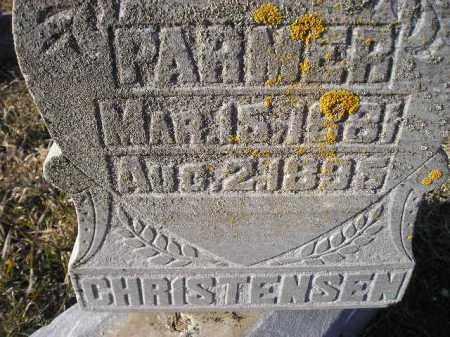 CHRISTENSEN, PARMER - Kingsbury County, South Dakota | PARMER CHRISTENSEN - South Dakota Gravestone Photos