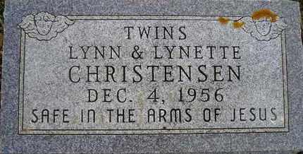 CHRISTENSEN, LYNETTE - Kingsbury County, South Dakota | LYNETTE CHRISTENSEN - South Dakota Gravestone Photos