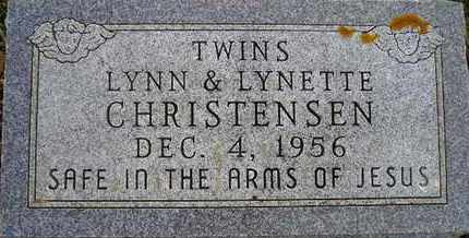 CHRISTENSEN, LYNN - Kingsbury County, South Dakota   LYNN CHRISTENSEN - South Dakota Gravestone Photos