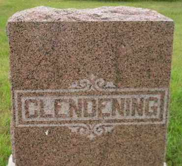 CLENDENING, FAMILY STONE - Kingsbury County, South Dakota | FAMILY STONE CLENDENING - South Dakota Gravestone Photos