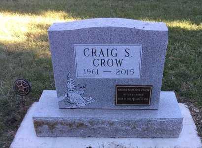 CROW, CRAIG S - Kingsbury County, South Dakota   CRAIG S CROW - South Dakota Gravestone Photos