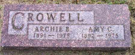 CROWELL, ARCHIE B - Kingsbury County, South Dakota   ARCHIE B CROWELL - South Dakota Gravestone Photos