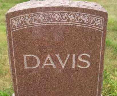 DAVIS, FAMILY STONE - Kingsbury County, South Dakota | FAMILY STONE DAVIS - South Dakota Gravestone Photos