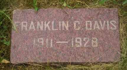 DAVIS, FRANKLIN C. - Kingsbury County, South Dakota | FRANKLIN C. DAVIS - South Dakota Gravestone Photos