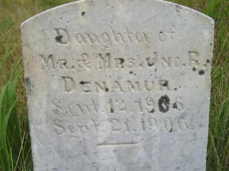 DENAMUR, DAUGHTER - Kingsbury County, South Dakota | DAUGHTER DENAMUR - South Dakota Gravestone Photos