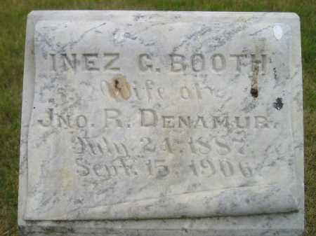 DENAMUR, INEZ G. - Kingsbury County, South Dakota | INEZ G. DENAMUR - South Dakota Gravestone Photos