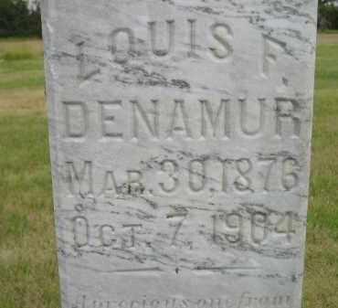 DENAMUR, LOUIS F. - Kingsbury County, South Dakota | LOUIS F. DENAMUR - South Dakota Gravestone Photos