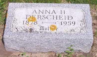 DERSCHEID, ANNA H - Kingsbury County, South Dakota   ANNA H DERSCHEID - South Dakota Gravestone Photos