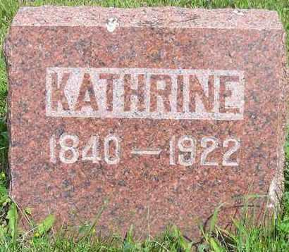 DERSCHEID, KATHRINE - Kingsbury County, South Dakota | KATHRINE DERSCHEID - South Dakota Gravestone Photos