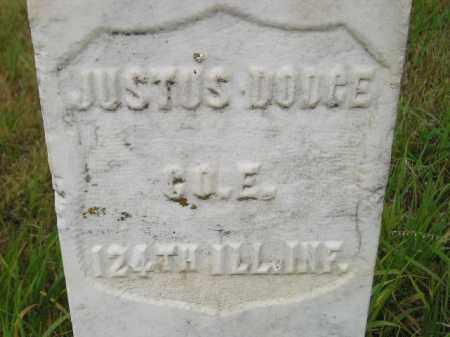 DODGE, JUSTUS - Kingsbury County, South Dakota | JUSTUS DODGE - South Dakota Gravestone Photos