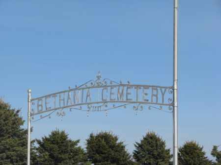 *EAST BETHANIA, CEMETERY SIGN - Kingsbury County, South Dakota   CEMETERY SIGN *EAST BETHANIA - South Dakota Gravestone Photos