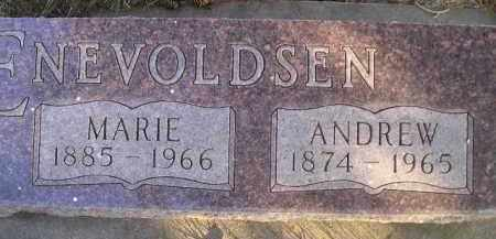 ENEVOLDSEN, ANDREW - Kingsbury County, South Dakota | ANDREW ENEVOLDSEN - South Dakota Gravestone Photos