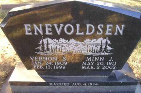 ENEVOLDSEN, VERNON S - Kingsbury County, South Dakota | VERNON S ENEVOLDSEN - South Dakota Gravestone Photos