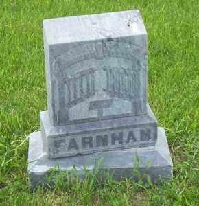 FARNHAM, PLOT MARKER - Kingsbury County, South Dakota | PLOT MARKER FARNHAM - South Dakota Gravestone Photos