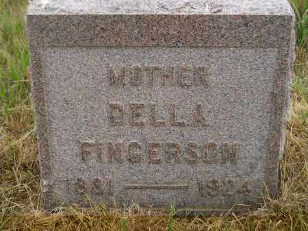 FINGERSON, DELLA - Kingsbury County, South Dakota | DELLA FINGERSON - South Dakota Gravestone Photos